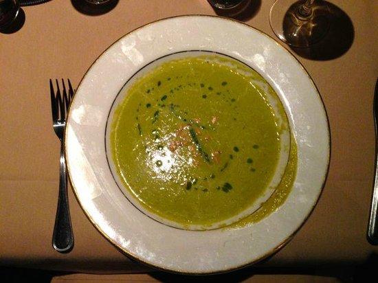 St. Bernard's: Fresh Asparagus soup