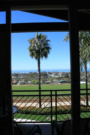 Grand Pacific Palisades Resort and Hotel: Looking out from the living room area