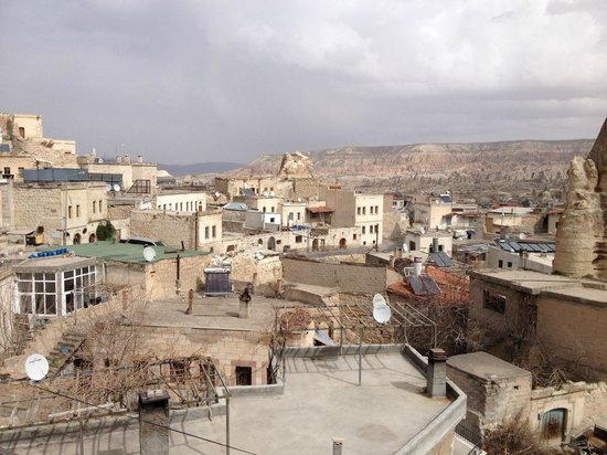 Taskonak Hotel : View from terrace