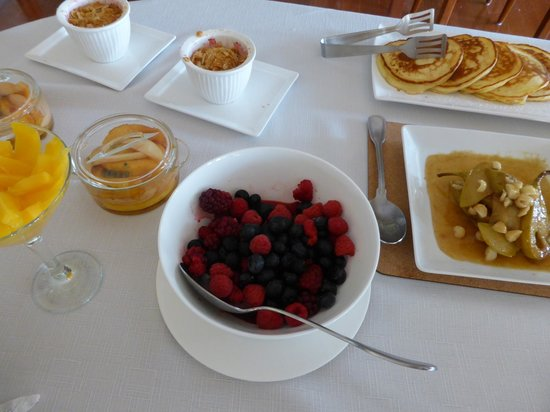 Moorview House Bed and Breakfast: Delicious breakfast items