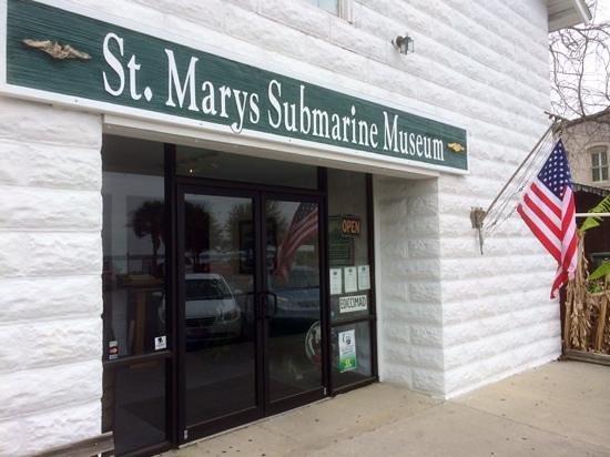 St. Marys Submarine Museum: St. Mary's Submarine Museum