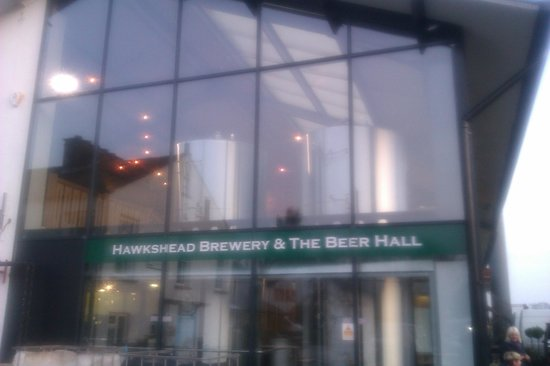 The Beer Hall: The Brewery, obviously