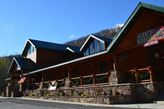 Smoke Hole Caverns & Log Cabin Resort: Gift shop, biggest in WV I heard
