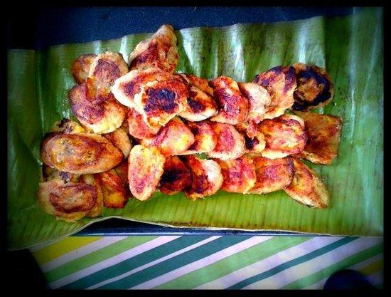 Yukawala: Fried bananas