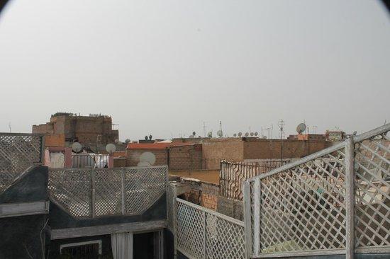 Riad Menzeh : Vue de la terrasse