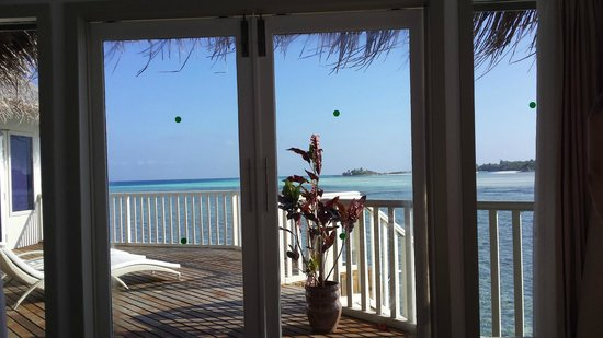 Cinnamon Dhonveli Maldives : What a view to wake up to!!