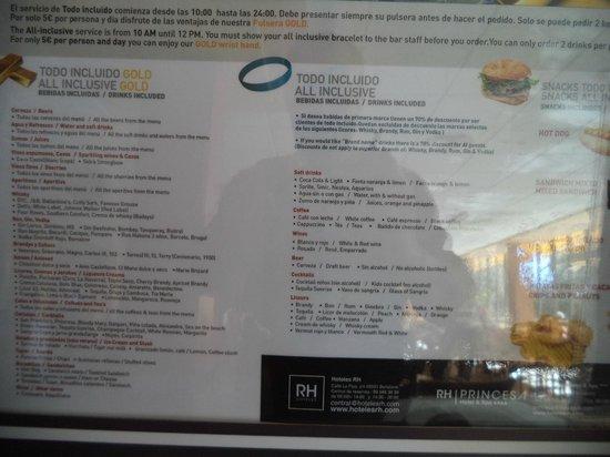 Hotel RH Princesa: AI Extras