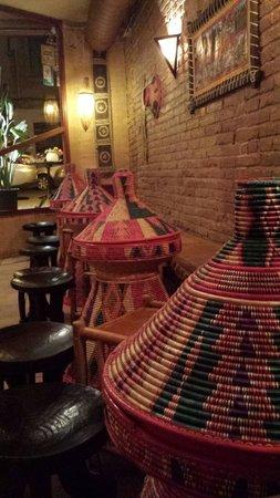 Restaurante Addis Abeba : Comedor