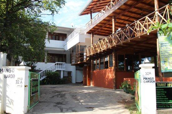 Hotel Mango Garden : Entré