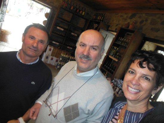 Sezgins Boutique Pansion : In a vinyards shop
