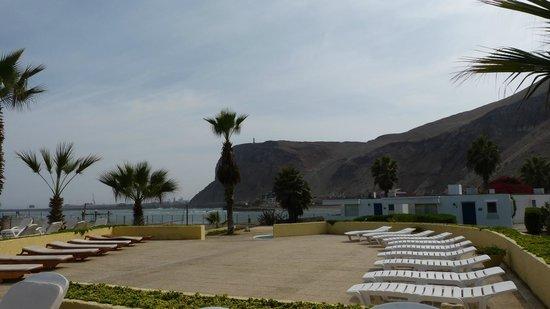 Panamericana Hotel Arica: vista del morro