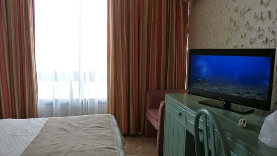 Panamericana Hotel Arica: muebles anticuados