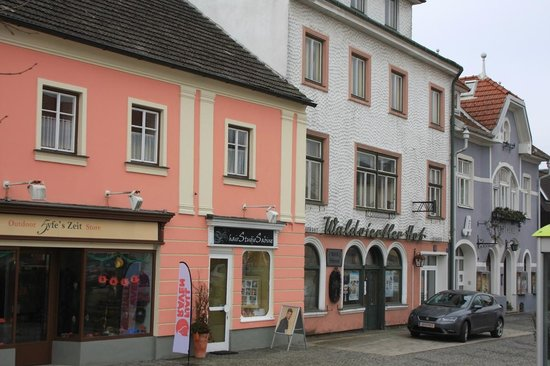 Romantik Hotel Goldener Stern: altstadt