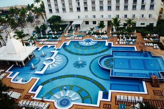 Hotel Riu Palace Aruba: view from our 8th floor balcony