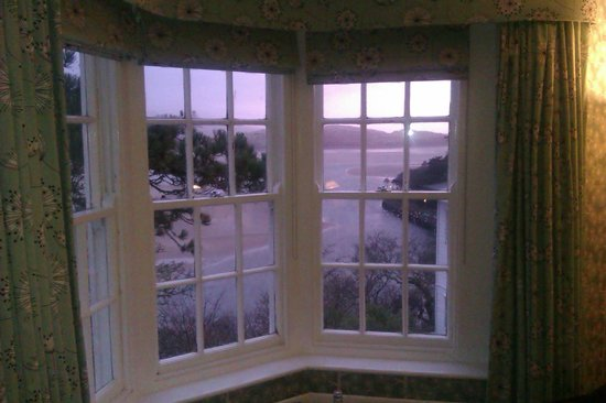 Hotel Portmeirion : View from Bridge House