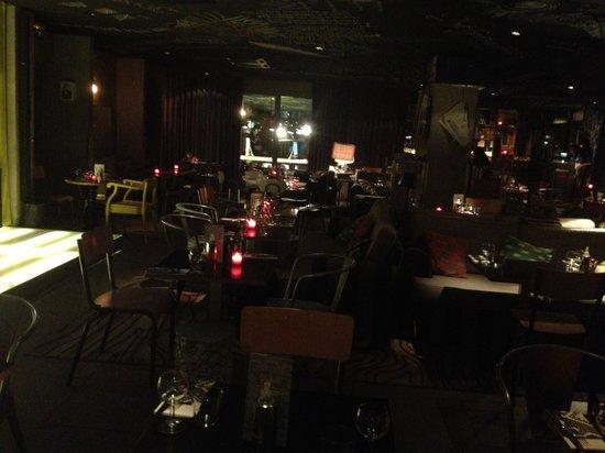 Mama Shelter Paris : Bar/restaraunt