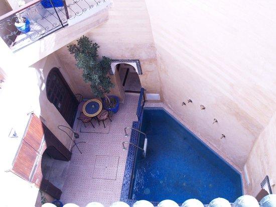 Riad Ziryab Marrakech : area recreativa