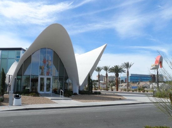 The Neon Museum: The Museum itself is the old La Concha Hotel