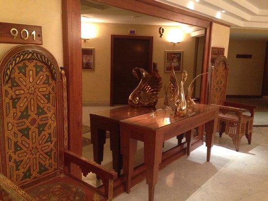 Sheraton Casablanca Hotel & Towers: Hall d'entré au 9ième