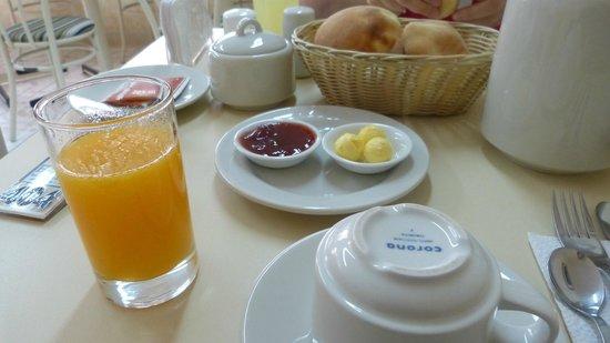 San Francisco Inn: desayuno americano
