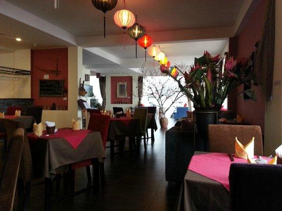 H'Mong Sapa Hotel : Hotelowa restauracja