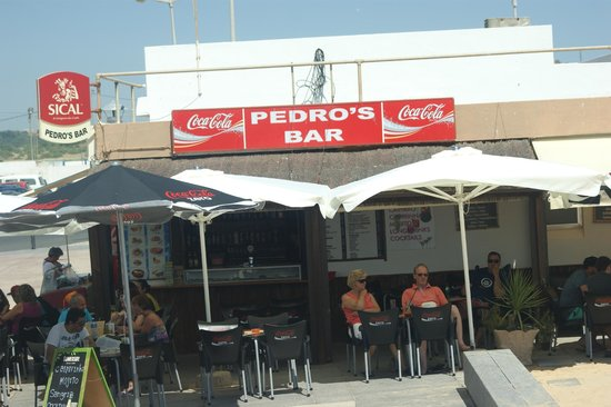 Pedro's Bar : great place to enjoy the sun and an ice cold beer, hamburgers are nice too.