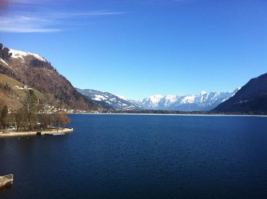 Grand Hotel Zell am See: lake view
