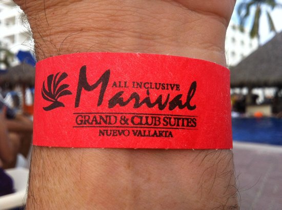 Marival Resort & Suites: Day pass wrist band