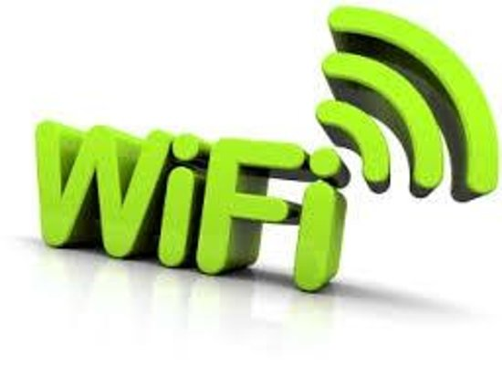Villa Rima : Free WIFI in the appartments and rooms