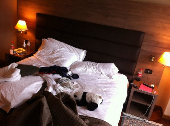 Hotel San Giorgio : Camera 405 (scusate per il disordine )