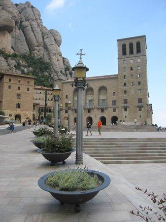 Montserrat Monastery : Exterior.