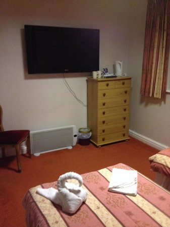 The Albany Hotel on Albert Road: Room 3 recently decorated book early for this room