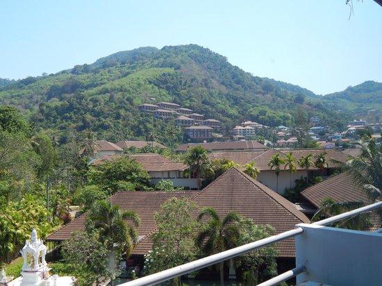 Hotel de Karon: view fron our room.