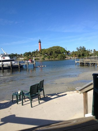 Jetty's : This was the view from our table.