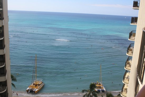Outrigger Waikiki Beach Resort : Outrigger Waikiki on the Beach Level 15