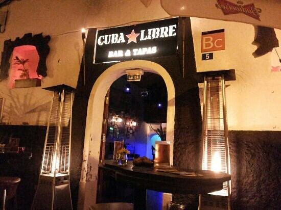 Puerto de Mogan, Spanyol: Cuba Libre | Bar y Tapas