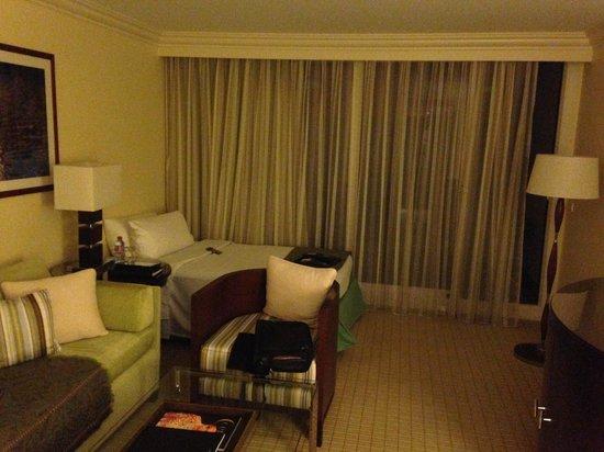 Fairmont Monte Carlo: Vista de la habitación individual