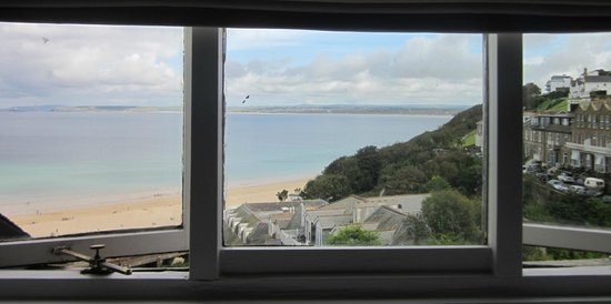 St. Ives Harbour Hotel & Spa: Sea view!