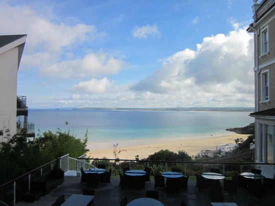 St. Ives Harbour Hotel & Spa: The Beach