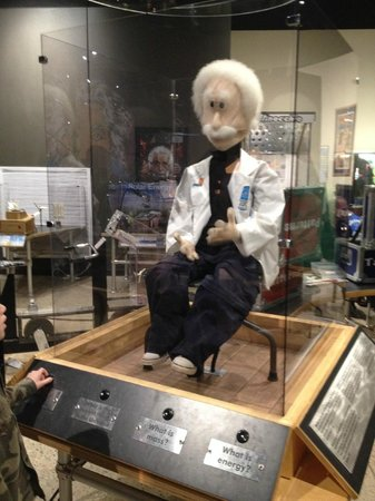 The National Museum of Nuclear Science & History : Einstein in kids' area