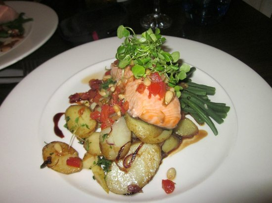 St. Ives Harbour Hotel & Spa: Delicious high quality food in the restaurant!