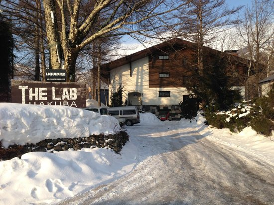 The Lab Hakuba: Lab from the street