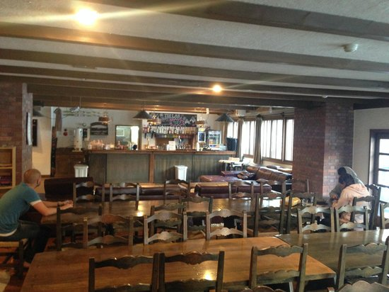 The Lab Hakuba: The lounge / breakfast area