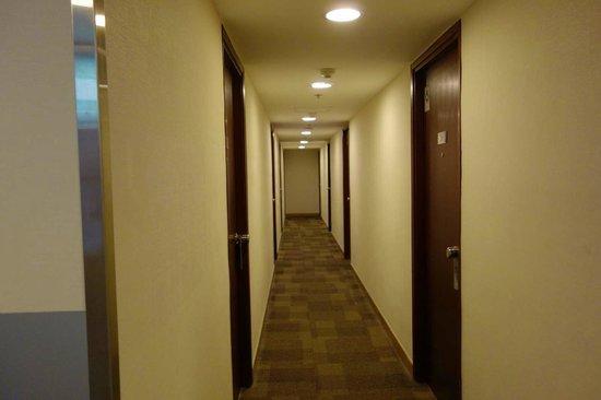 Hongkong MK Hotel: ホテル廊下