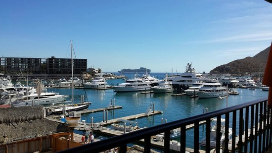 Tesoro Los Cabos: View from the breakfast area