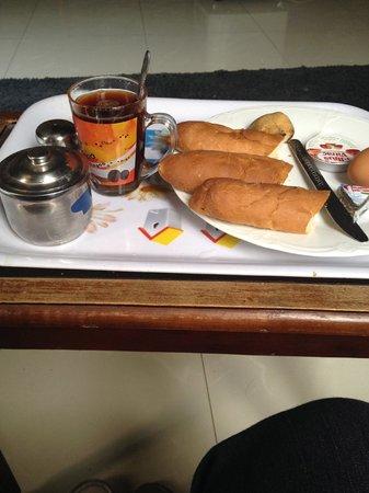 Freedom Hostel: breakfast
