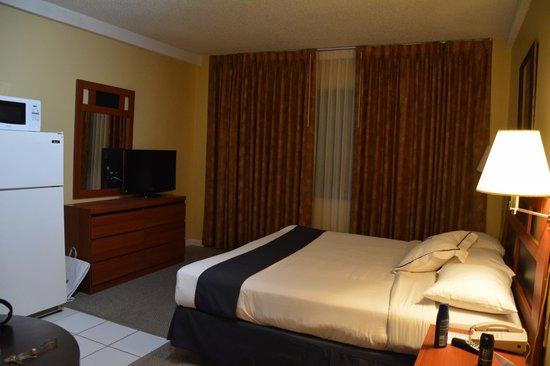 The New Casablanca on the Ocean Hotel : Habitacion en el piso 10