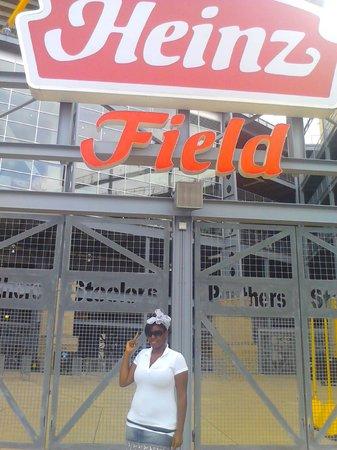 Heinz Field: front gate