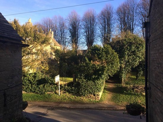 The Swan at Ascott: The view from one of the windows upstairs