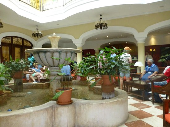 Iberostar Grand Hotel Trinidad: Spacious and Comfortable Lobby
